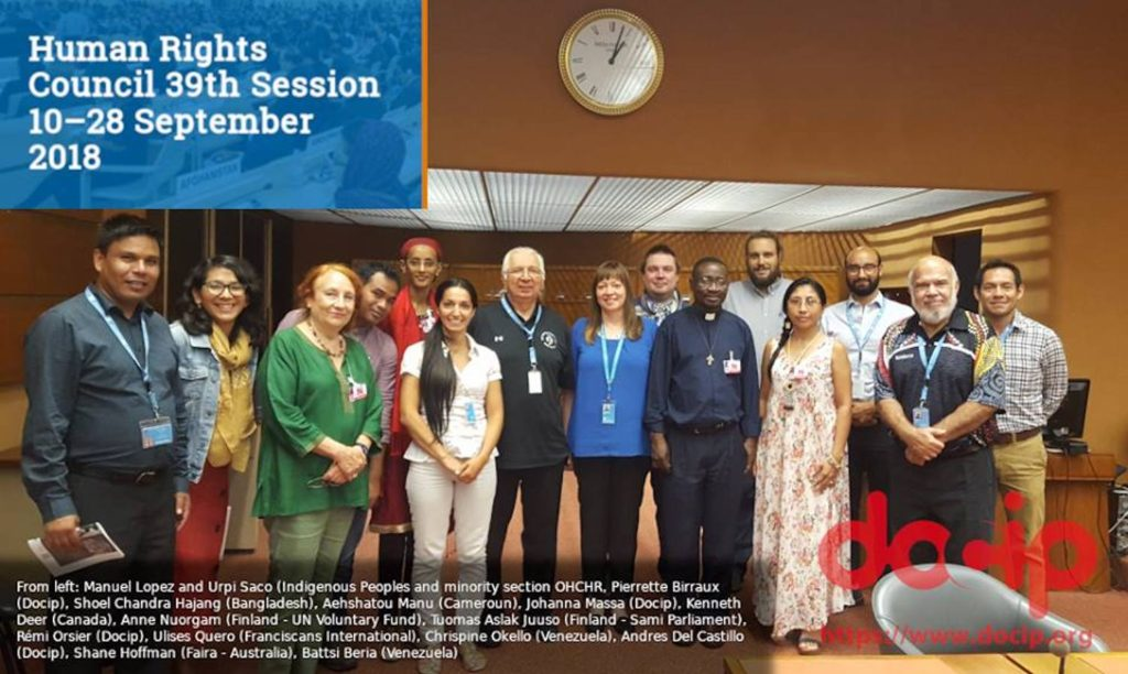 UN Human Rights Council 38th Sessions, September 2018